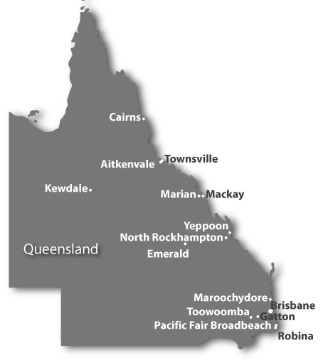 Pioneer Facility Services Sites in Queensland
