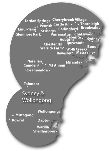 Pioneer Facility Services Sites in Sydney and Wollongong